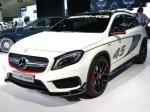 Ателье AMG «зарядило» кроссовер Mercedes-Benz GLA