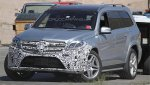Шпионы засекли обновленный Mercedes-Benz GL