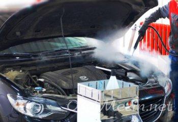 Высококачественная мойка двигателя паром: основные достоинства