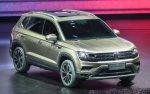 Новый кроссовер Volkswagen Tayron третьего поколения