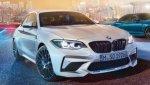 Компактный спорткар BMW M2 Competition