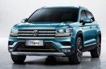 Новый кроссовер Volkswagen Tharu