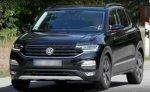 Первые фото компактного паркетника Volkswagen T-Cross