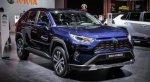 Новый гибридный кросс Toyota RAV4 Hybrid для Европы