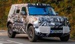 Новый внедорожник Land Rover Defender