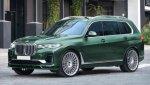 Флагманскую модель кроссовера BMW X7 доработает Alpina
