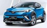 Обновленная модель кроссовера Toyota C-HR