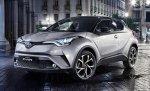 Рестайлинг купеобразного кроссовера Toyota C-HR