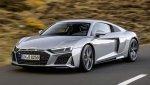 Заднеприводные спортивные купе и родстер Audi R8 V10 RWD